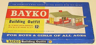 Bayko Meccano Building Outfit 12 Great Condition Factory Sealed MINT Boxed