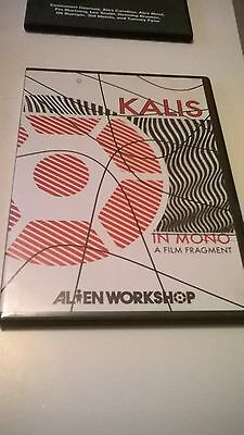 Kalis Alien Workshop Habitat Regal Road Skateboarding DVD