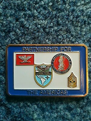 us challenge coin Southern command