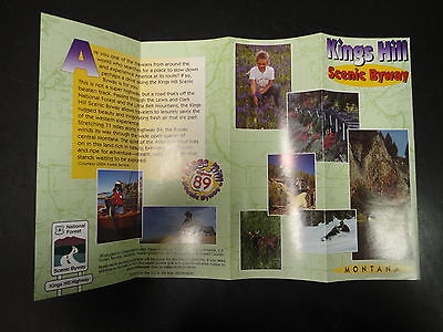 Montana Kings Hill Scenic Byway Pamphlet