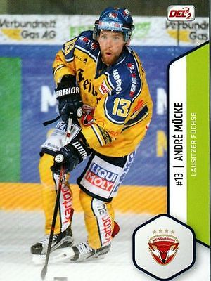 Playercards - Eishockey DEL 2 Saison 16/17 Karte #13 André Mücke