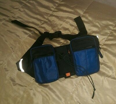Lovely condition travel bum bag/walking/hiking/cycling 16X30cm