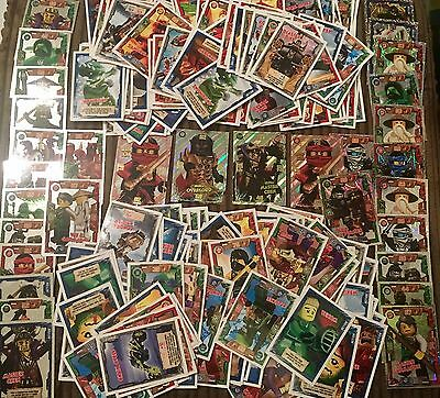 100s of LEGO NINJAGO trading Cards! 5 For £1!