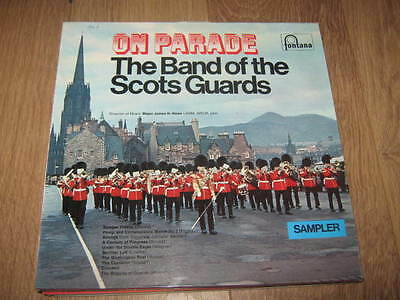 "The Band Of The Scots Guards "" On Parade "" Fontana Sampler Vinyl Lp"