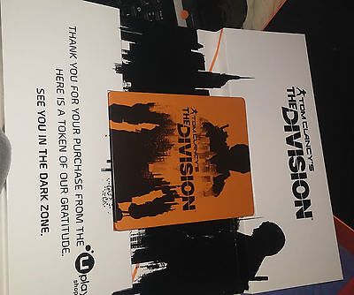 The Division Steelbook for Xbox One, PS4 or PC New! Extreme Rare!