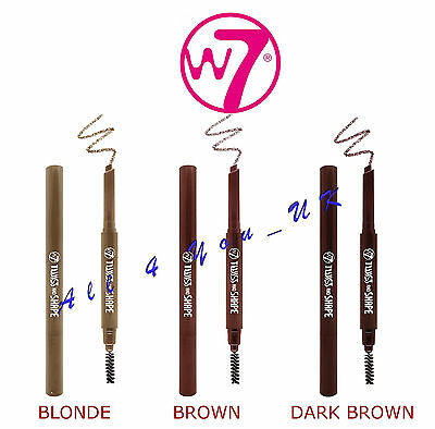 W7 Twist And Shape Eyebrow Pencil ~~ Please Choose Shade
