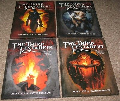 THE THIRD TESTAMENT – complete collection (4x hardcover graphic novels)