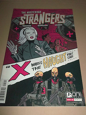 The Mysterious Strangers # 5 ~ Super Condition Oni Press Comics