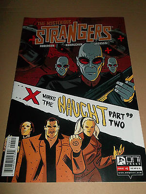 The Mysterious Strangers # 6 ~ Super Condition Oni Press Comics