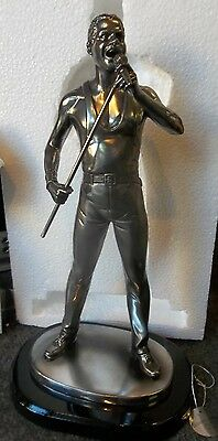 Freddie Mercury Figurine By The Leonardo Collection Lesser and Pavey LP7463 NEW!