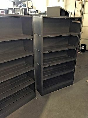 """36""""Wx13""""Dx62""""H METAL BOOKCASE/SHELVING UNIT by HON OFFICE FURNITURE MODEL SF1436"""