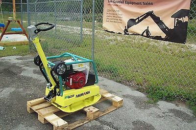 """Ammann Reversible Plate Compactor,6750 Lbs Force,20""""x30"""" Plate,German Made,NEW"""