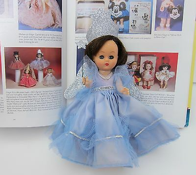 Vintage 1950's Cosmopolitan Ginger Doll & Outfit~BLUE FAIRY COSTUME~Disneyland