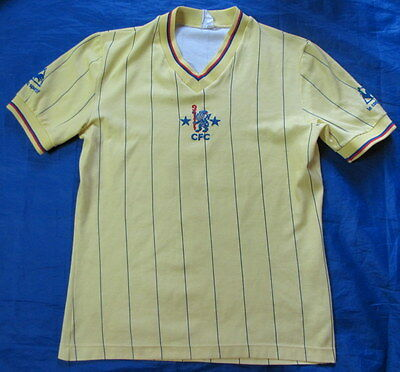 1981-1983 CHELSEA LONDON away shirt jersey Le Coq Sportif  RETRO adult SIZE M