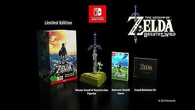 The Legend of Zelda : Breath of the Wild Limited Edition - SWITCH - NEW - ENG