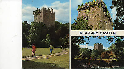 postcard Ireland  Blarney Castle multiview   unposted  Hinde