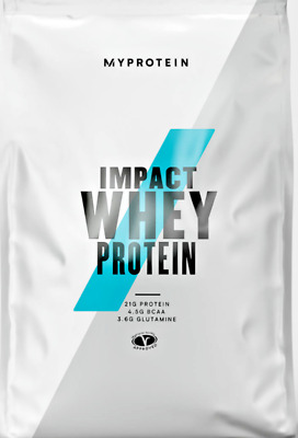 Myprotein Impact Whey 1kg  2.5kg  5kg Low Fat Carb High Protein powder