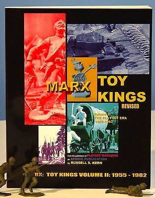 Marx Toy Kings Volume II (Hard Cover Book) by Russell S. Kern