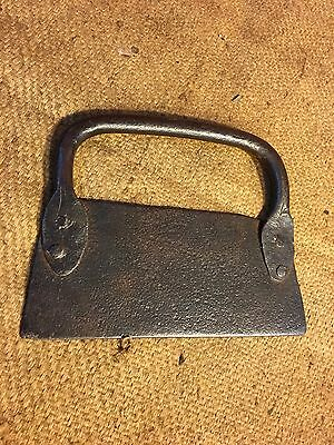 Antique English Forged Steel Baker's Country Kitchen Pasty Dough Cutter