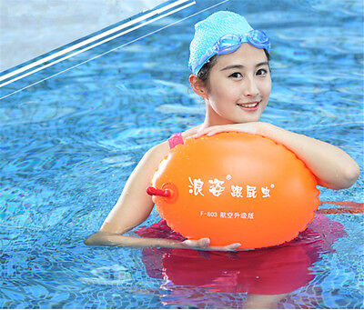 Swimming Life Buoy Inflatable Balloon Swimming Buoy Safety Float Ball Two Layers