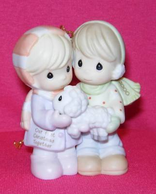 Precious Moments OUR FIRST CHRISTMAS TOGETHER Ornament Dated 2000