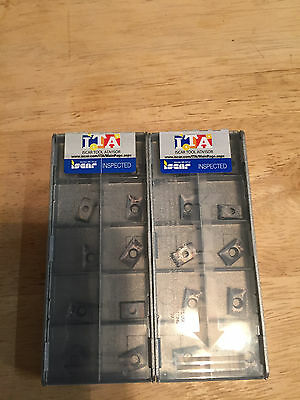 Iscar (20 Inserts) Apct 100302R-Hm Ic328 ***new Factory Packs***