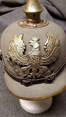 WWI Reproduction Prussian Pickelhaube Helmet Plate