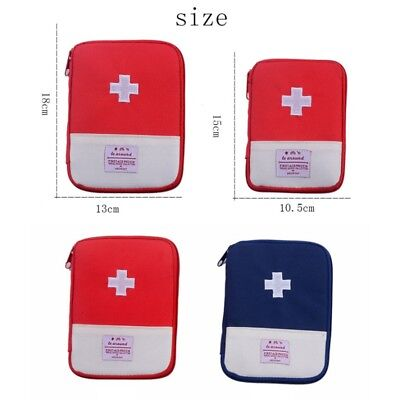 First Aid Medical Treatment Pouch Sport Camping Hiking Travel Emergency Kit Bag