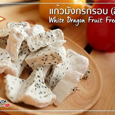 Freeze Dried White Dragon Fruit Healthy Snack Thai Fruit Food Natural Delicious