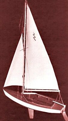 Lightning Sailboat 19 Inch Kit, Dumas, DUM1110