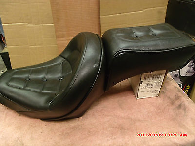 harley davidson 1984-89 softail seat drag specialties new perfect street glide ?