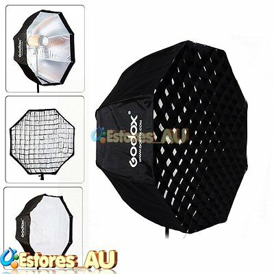 "Godox 120cm/47"" Octagon Umbrella Flash Softbox w/ Grid For Flash Speedlite【AU】"