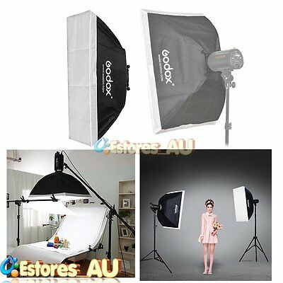 【AU】Godox 50x70cm Studio Softbox w/98mm Mount Ring Adaptor For Speedlite Flash