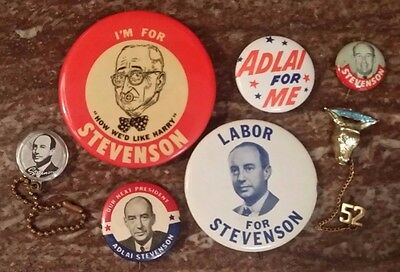 Adlai Stevenson: Collection of 7 Items
