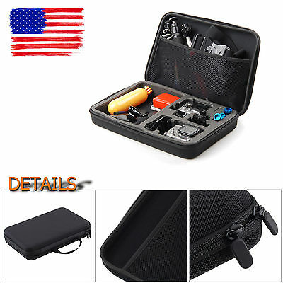 Large Shockproof Protective Carry Case Bag for GoPro Hero1 2 3 3+4 Accessories