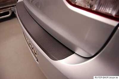 Carbon Style rear Bumper Protector Nissan Qashqai+2