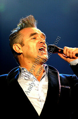 Morrissey performing live at Reading Rock photograph picture print by AE Photo
