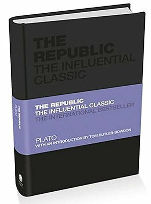 The Republic: The Influential Classic NUEVO Rilegato Libro  Plato, Tom Butler-Bo