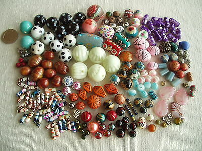 200+ Patterned & Decorative Beads for Jewellery/Craft Glass, Ceramic, Metal etc.