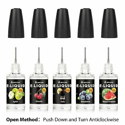 10x10ml E liquid 0mg/ml Nikotin Aroma eliquid set E Shisha E-Zigaretten Liquids