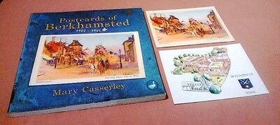 Nice Book On Postcards Of Berkhamstead By Mary Casserley Plus 2 Post Cards