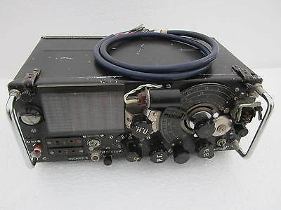 Russian military tube radio receiver US-P Receiver .  USSR  .