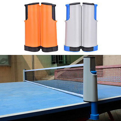 Black Replacement Games Retractable Table Tennis Ping Pong Portable Net Kit