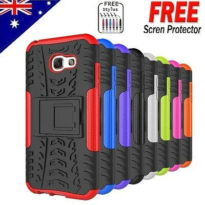 Heavy Duty Tough Shockproof Case Cover For Samsung Galaxy A5 2017 A7 A3 2017