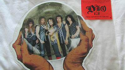 """Dio -  Hide in the Rainbow  E.P. Limited Edition 10"""" Picture Disc DIOP710"""