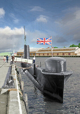 Hms Tabard - Hand Finished, Limited Edition (25)