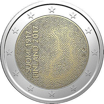 2 Euro Commemorative coin Finland 2017 UNC
