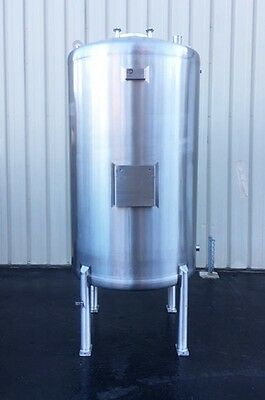HCI 650 Gallon Stainless Steel Tank, Sanitary Food Grade