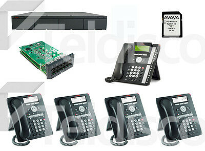 Avaya IP Office Bundle: IP Office 500 Control Unit V2, MU-LAW SD card