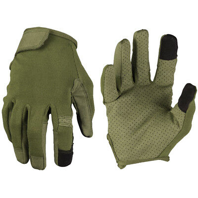 Mil-Tec Combat Touch Gloves Army Tactical Lightweight Phone Combat Wear Olive